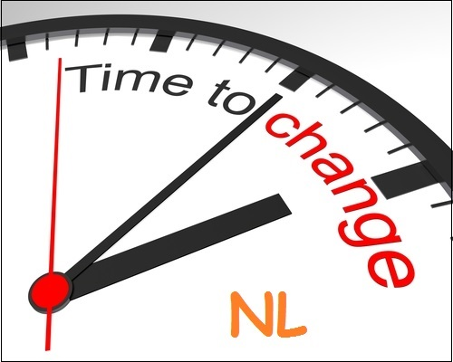 Time To Change NL - klok - Orange Monday met lijntje